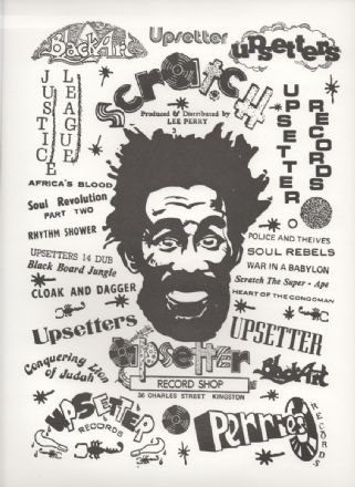 Lee Perry Poster printed on High Quality White Card